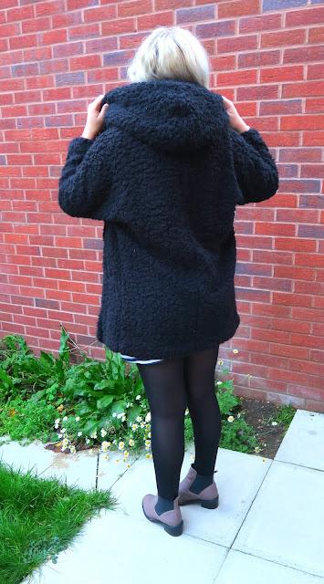 #OOTD: Primark Fluffy Coat