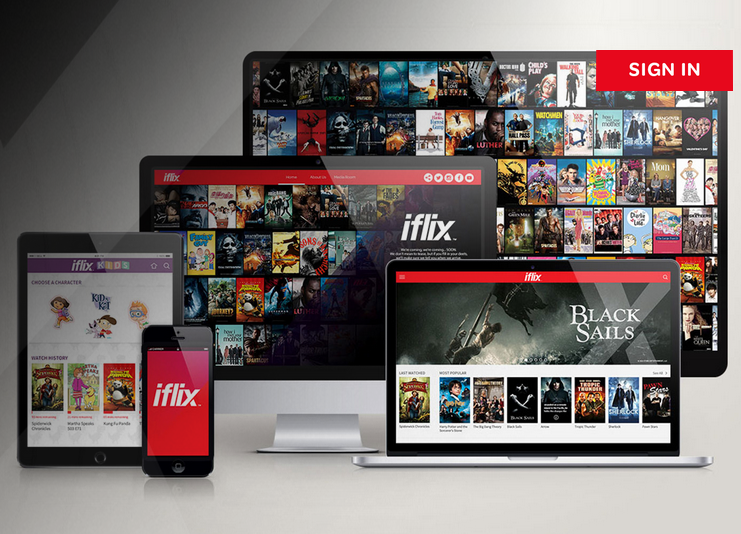 iflix interface