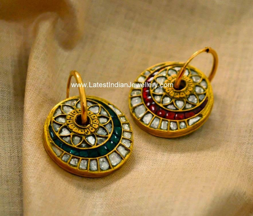 Two Sided Fancy Earrings