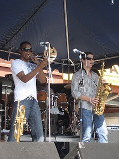 Trombone Shorty at Satchmo Fest