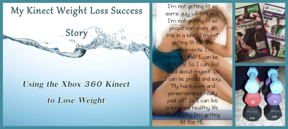 My Kinect Weight Loss Success Story