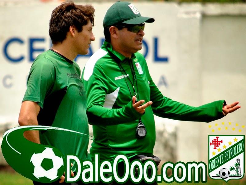 Oriente Petrolero - Ronald Raldes - Eduardo Villegas - DaleOoo.com página del Club Oriente Petrolero