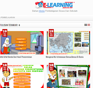 Inilah Situs Penyedia Media Pembelajaran Sekolah Dasar Sekolah Now