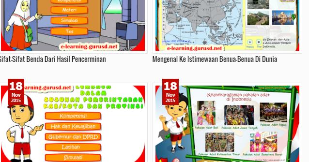 Inilah Situs Penyedia Media Pembelajaran Sekolah Dasar Kabar Guru