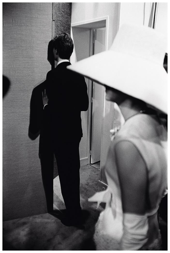 ves Saint Laurent at his first own couture show in 1962 photographed by Pierre Boulat