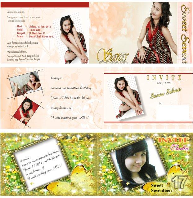 Paket DVD Koleksi Template Undangan CorelDraw + Kumpulan