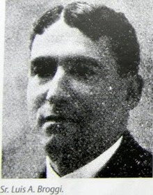 Arquitecto Luis A. Broggi 1871-Tradate // 03/04/1958 Buenos Aires