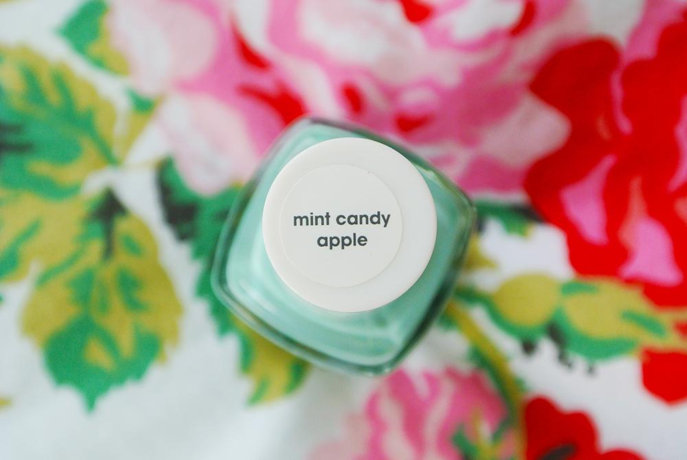 Essie Nail Polish: Mint Candy Apple | The Last Souvenir