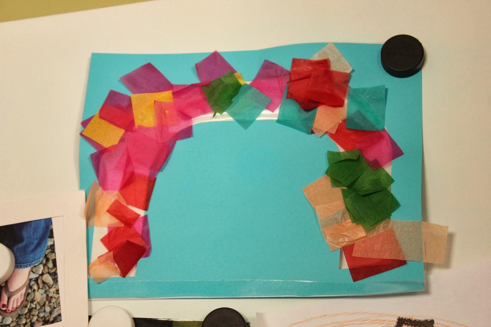 rainbow preschool crafts