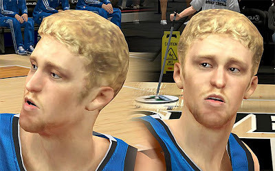 NBA 2K13 Chase Budinger Cyberface Patch