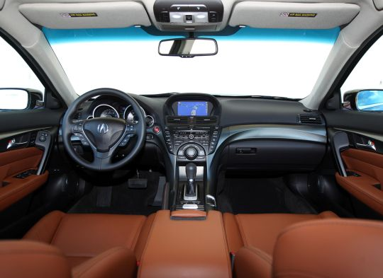 Acura Tl Sh Awd Interior Design