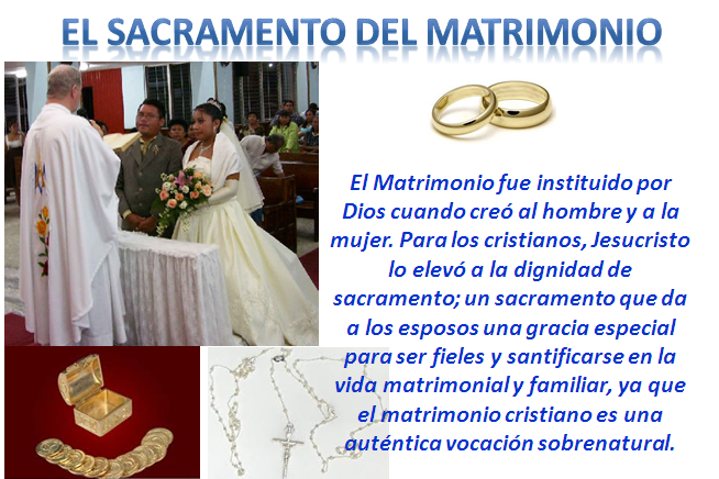 Sacramento Do Matrimonio Catolico : Imagenes sacramento de matrimonio parroquia sagrada