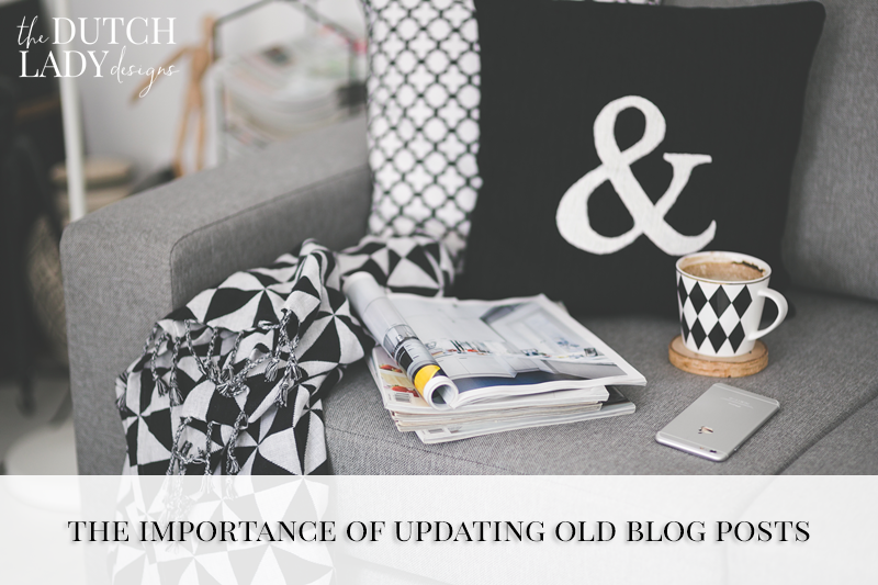 why it is important to update old blog posts