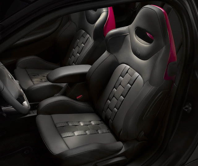 Citroën DS3 Cabrio Racng Concept car seats