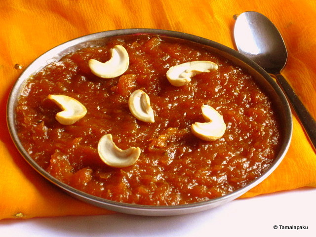 Red Pumpkin Halwa