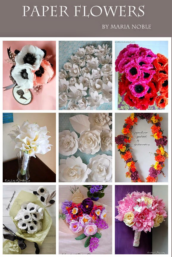 Tutorial whimsical paper flowers poppy how to make diy handmade tutorial whimsical paper flowers poppy how to make diy handmade paper flowers by maria noble mightylinksfo