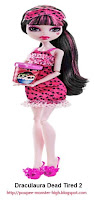 Poupée Monster High Draculaura Dead Tired 2 (Pyjama Party 2)