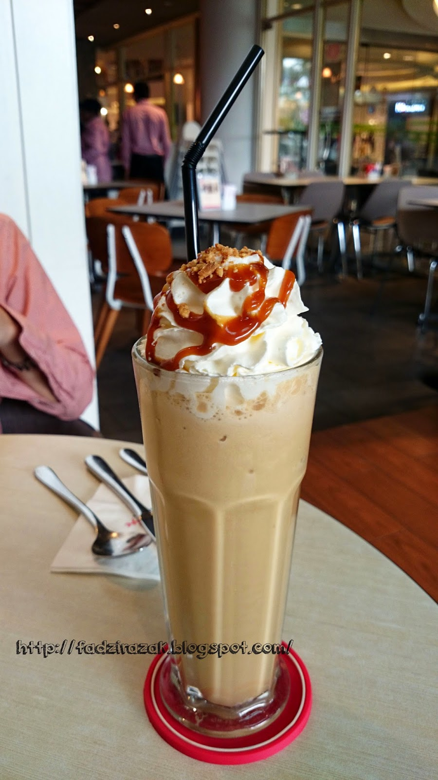 Ice Blended Caramel Coffee