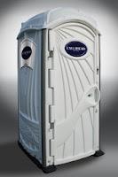 A White Toilet portable toilet by CALLAHEAD CORP