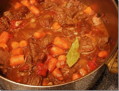 pot of Irish stew