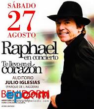 Raphael Concierto Benidorm 2011