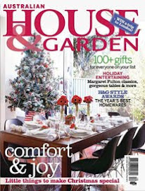 Featured in House &amp; Garden