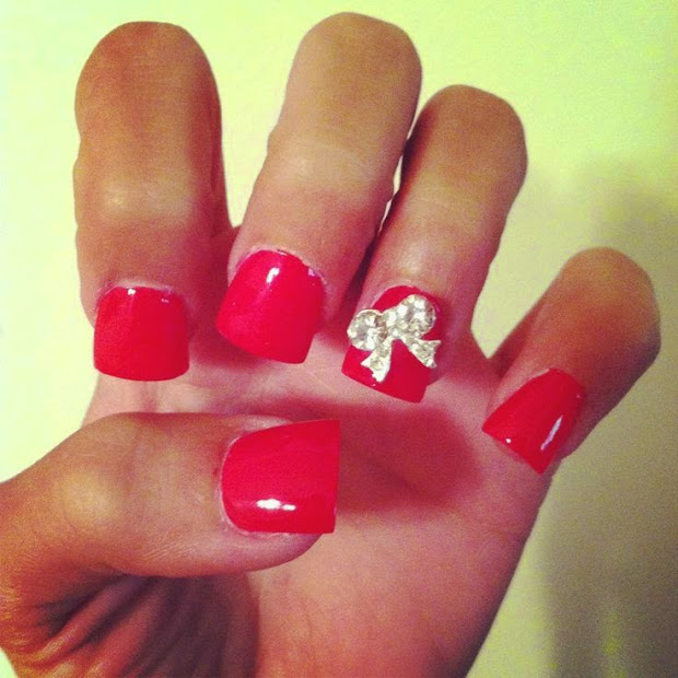 acrylic nail design art