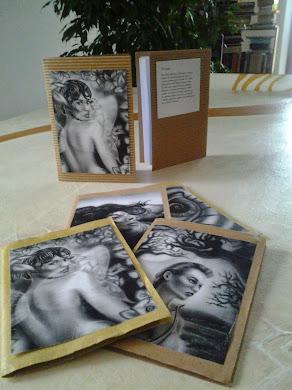 RICICLARE CARTA: Mini quaderni con illustrazioni MITI e carta riciclata