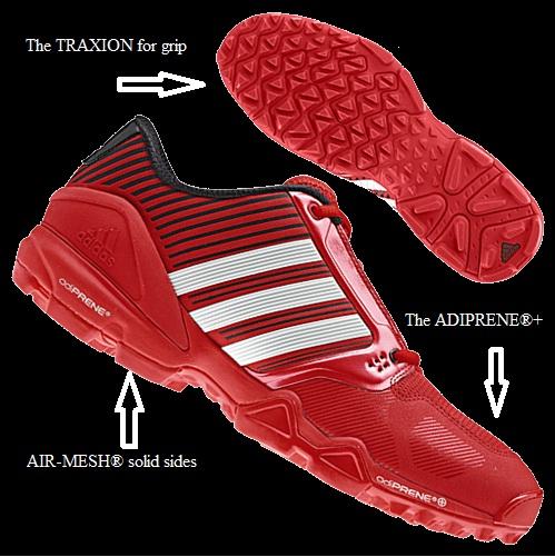 The Adipower Hockey Shoe: 2012