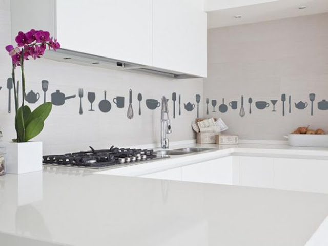 Aranżacja kuchni - dekoracje