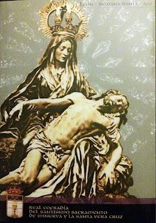 Portada de la revista de Semana Santa de la Vera Cruz de León. 2015