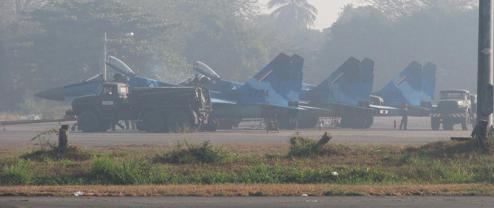 Forces armées birmanes/Myanmar Armed Forces/Tatmadaw BIRMANIA%2BYANGON%2BMINGALADON