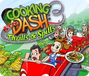 เกมส์ Cooking Dash 3 - Thrills & Spills