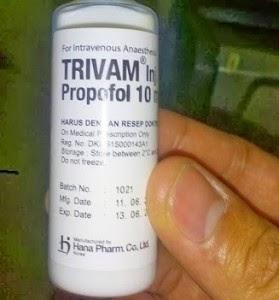 Obat Bius Cair Trivam Propofol