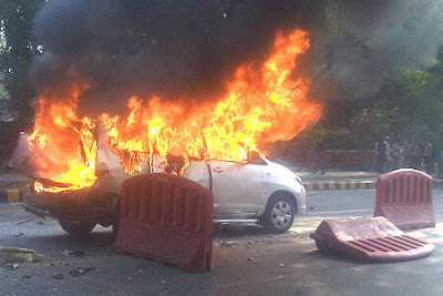 Israeli Embassy Car Blast in Delhi