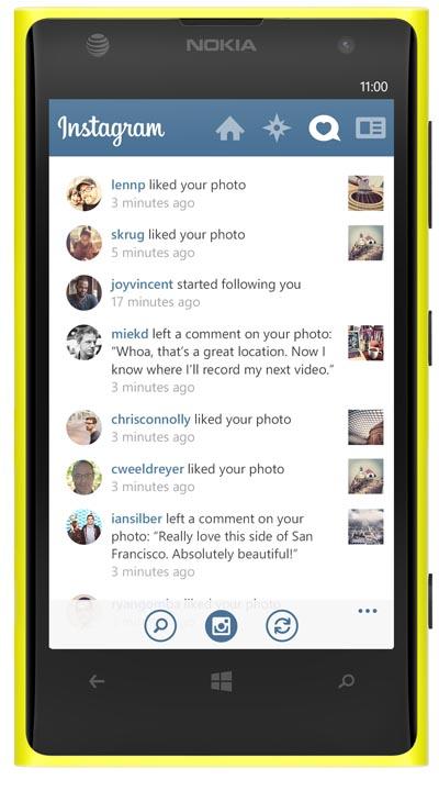 Akhirnya, Instagram Tersedia untuk Nokia Lumia
