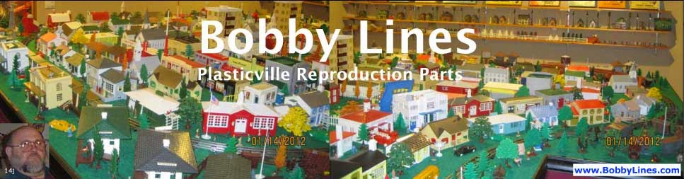 Plasticville Buildings | Reproduction Parts | BobbyLines.com