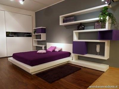 Come arredare casa camere da letto economiche - Camera da letto economica ...