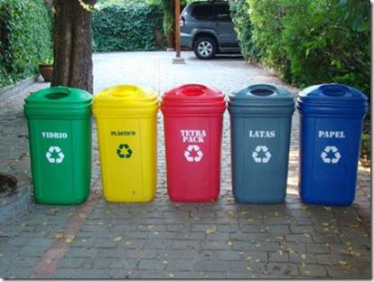 Club emprendedores ups reciclar y separar la basura - Colores para reciclar ...