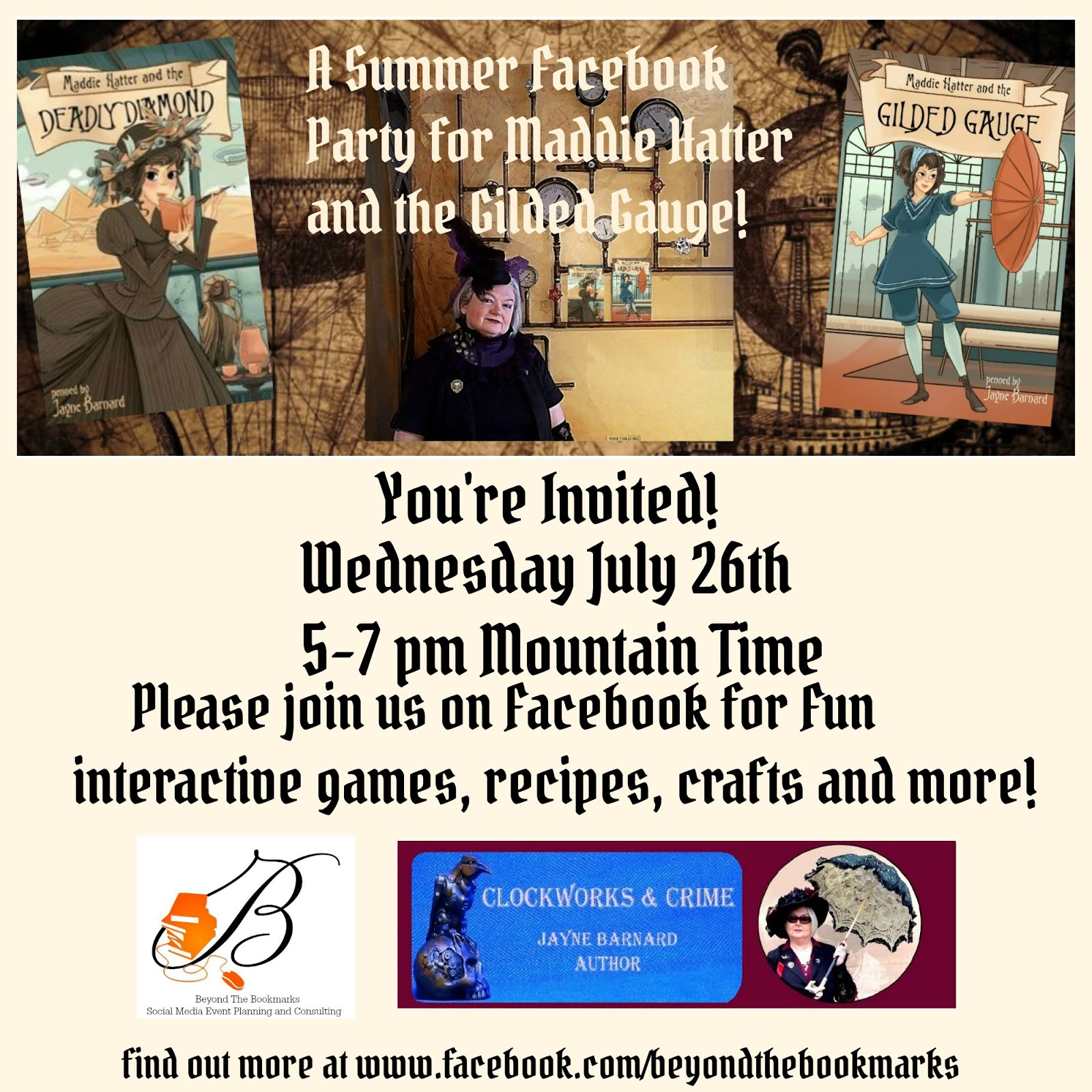 Please Join Us For A Fun Book Party!