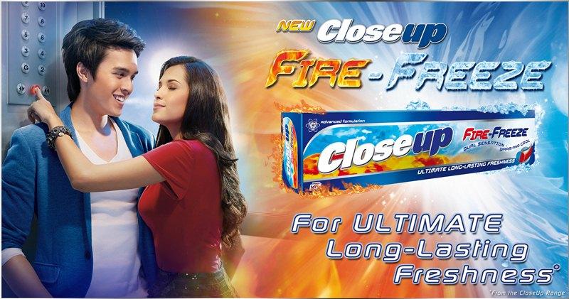 Close Up Fire Freeze