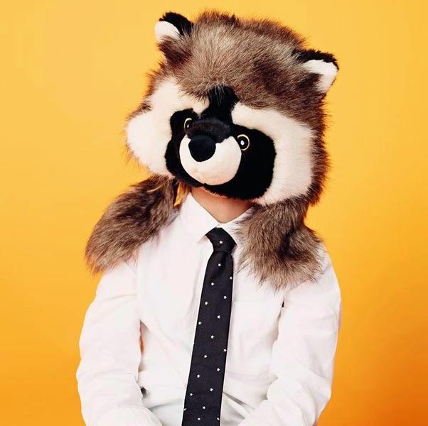 Gorro para niños con cabeza de animal de Primark