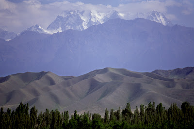 Tien Shan Mountains, China
