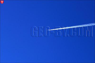 Самолет над Станьково