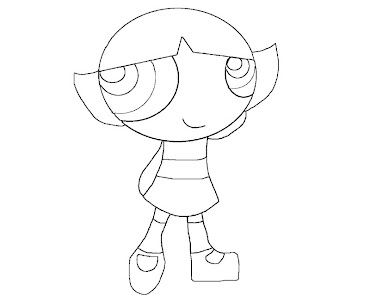 #7 Buttercup Coloring Page