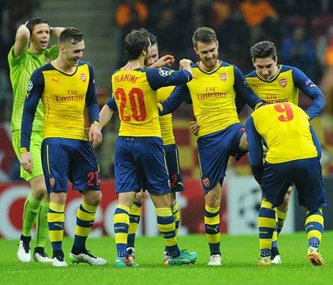 Arsenal 15 Musim Lolos Face Group
