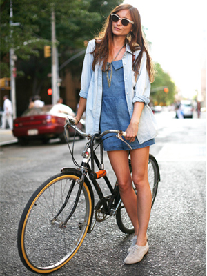 Bicycle Chic Street Style