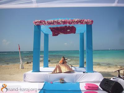 Sikh Anand Karaj beach mexico