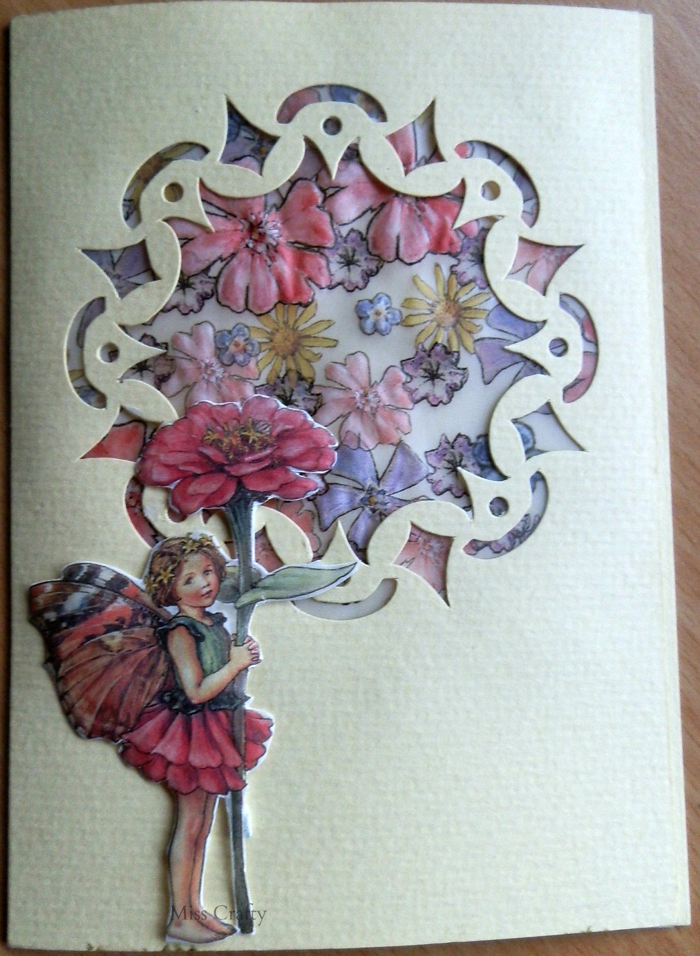 The Craft Gallery Parchment Fairies Sesonal Greeting Cards