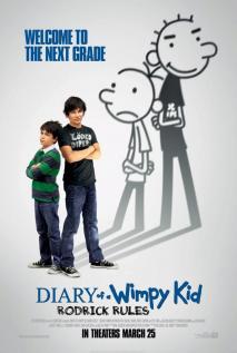 adaptación del segundo libro de la serie de wimpy kid de jeff kinney